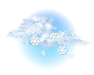 Înnorat și averse de ninsoare