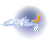 Parțial noros și ninsoare ușoară