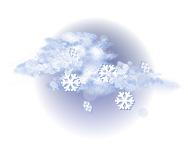 Înnorat și ninsoare moderată